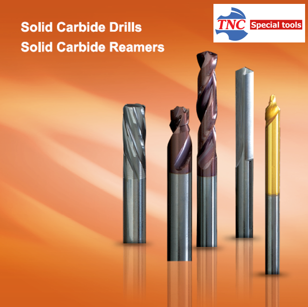 Solid Carbide Drills+Reamers
