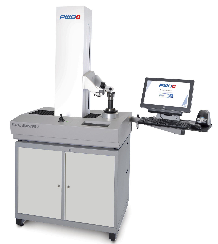 Optical tool presetter